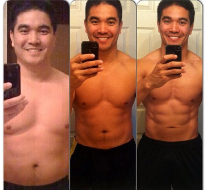 Personal Training Chandler Client Before and After