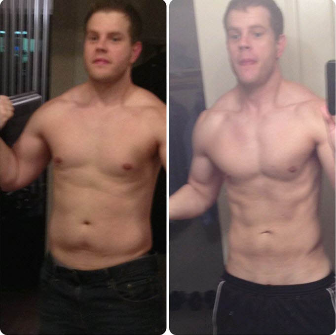 Personal Training Gilbert Client Before and After