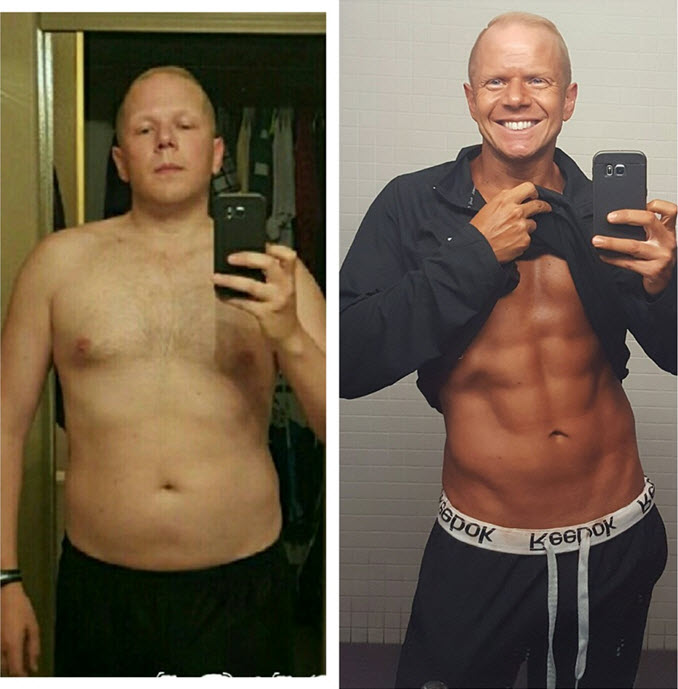 Personal Training Tempe Client Before and After